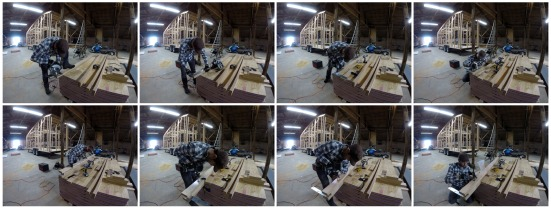 Making our Custom LVL Loft Beams