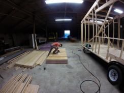 Laminating our C.I. panels