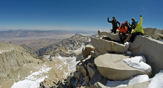 Mt Whitney Summit [14,505']