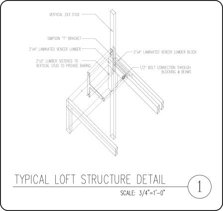 LOFT STRUCTURE DETAIL