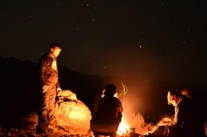 Camp Fire Dinner