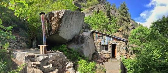 Stone Cabin, April 2016