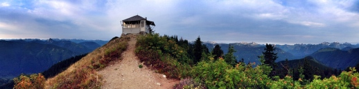 Evergreen Mountain Fire Lookout