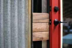 door hardware is installed!
