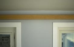 Indirect loft light bar when the light is off