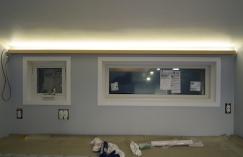 Indirect loft light bar