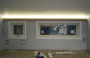 Indirect loft light bar