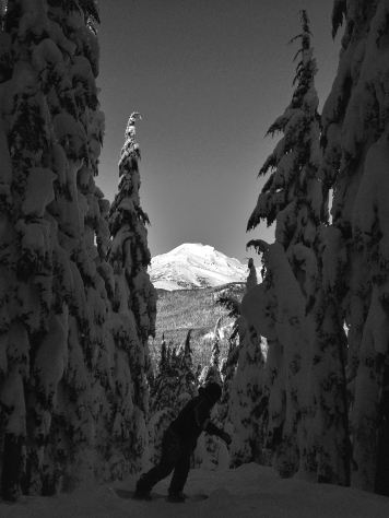 Mt Bachelor, Oregon. January 2016