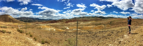 Painted Hills, OR. May, 2016