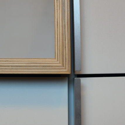 Stair & storage door detail