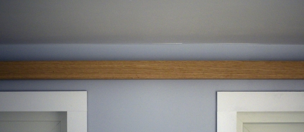 Loft indirect light bar detail (off)