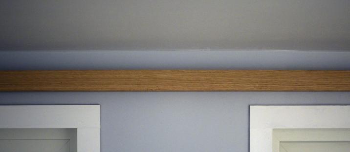 Loft indirect light bar detail (off)