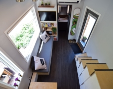 A birds eye view of the living space