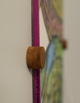 Wood Snowboard mount detail