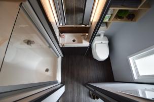 Birds eye view of bathroom