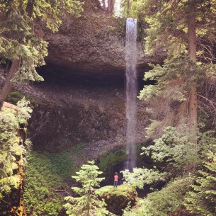 Secret Waterfall, Chinook Pass, WA June, 2016