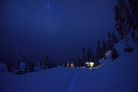 Oregon back country. December 2016